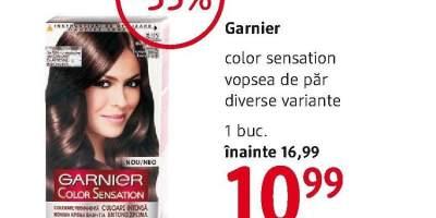 Vopsea de par Garnier Color Sensation
