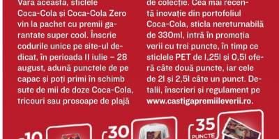Concurs Coca Cola: aduna punctele