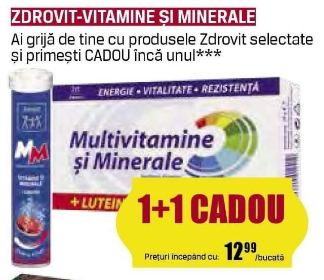 Zdrovit - vitamine si minerale