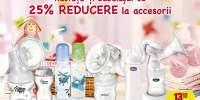 25% Reducere la accesoriile pentru copii si bebelusi