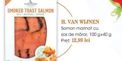 Somon marinat cu sos de marar H. Van Wijnen