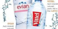 Apa minerala naturala VIttel/ Evian