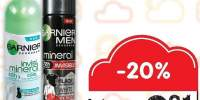 Deodorant spray Garnier