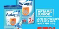 Lapte pentru copii de varsta minim 1 an/ 2 ani Aptamil Junior