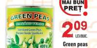 Mazare verde Green Peas