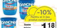 Iaurt Danone Delicios