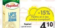 Lapte de consum Napolact 1.5% grasime