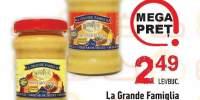 Mustar clasic/ dulce La Grande Famiglia
