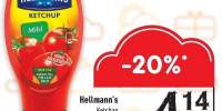 Ketchup clasic/ picant Hellmann's