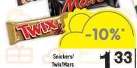 Baton Snickers/Twix/Mars