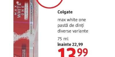 Pasta de dinti Colgate Max White One