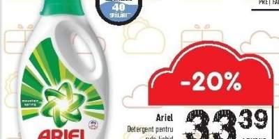 Detergent pentru rufe lichid Ariel