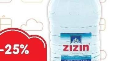 Apa naturala plata Zizin 5 L