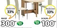 Masa si scaune Obling + Storvorde