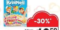 Krispies fulgi orez Kellogg's