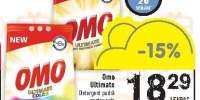 Detergent pudra pentru rufe Regular. Color Omo Ultimate
