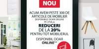 Mobila online: reducere 20% de la JYSK