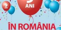 JYSK sarbatoreste 9 ani in Romania cu 70% reducere