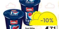 Iaurt bucati fructe Pezzi Muller