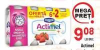 Iaurt cu capsuni/ fructe de padure Actimel