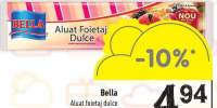 Aluat foietaj dulce Bella