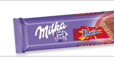 Baton de ciocolata Daim Milka Daim