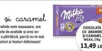 Ciocolata cu arahide si caramel MIlka