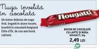 Baton de ciocolata cu lapte si nuga Nougatti