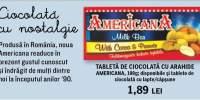Tableta de ciocolata cu arahide Americana