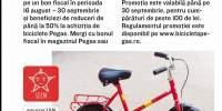 Biciclete Pegas la reducere cu Mega Image