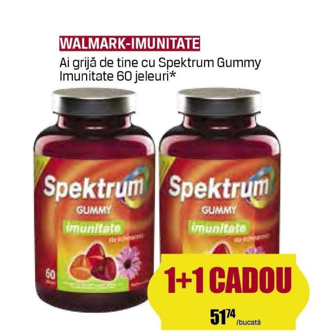 Walmark Spektrum Gummy pentru imunitate 60 jeleuri