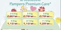 25% reducere la scutecele Pampers Premium Care