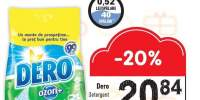 Detergent pudra Dero