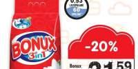 Detergent pudra 3 in 1 Bonux