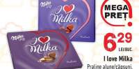 Praline I love Milka