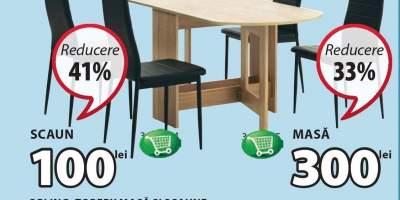 Set bucatarie masa si scaune