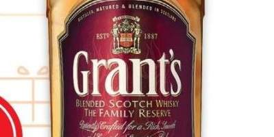 Whisky 40% alcool Grant's