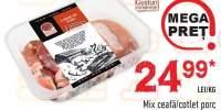 Mix ceafa/cotlet porc Gusturi Romanesti