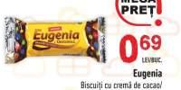 Biscuiti cu crema de cacao/ crema de lamaie Eugenia