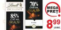 Ciocolata amaruise 70/%, 85% cacao