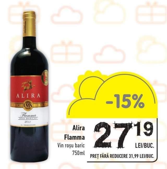 Vin rosu baric Alira Flamma