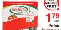 Suc concentrat de tomate 6.5% Perfetto