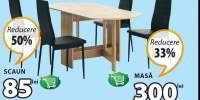 Masa si scaune Obling + Toreby