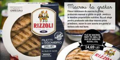 File de macrou fript de grill in ulei de masline Rizzoli
