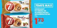 Croissant cu crema de alune si cacao/ arahide si cacao