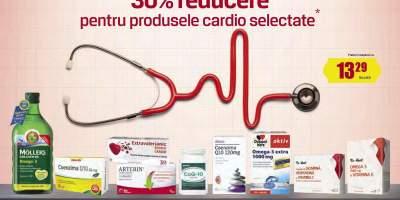 30% Reducere pentru produsele cardio selectate