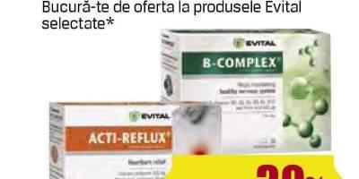 Evital - B Complex/ Acti-Reflux