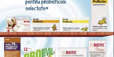 30% Reducere pentru produse probiotice