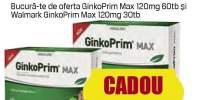 Walmark - memorie si circulatie GinkoPrim Max