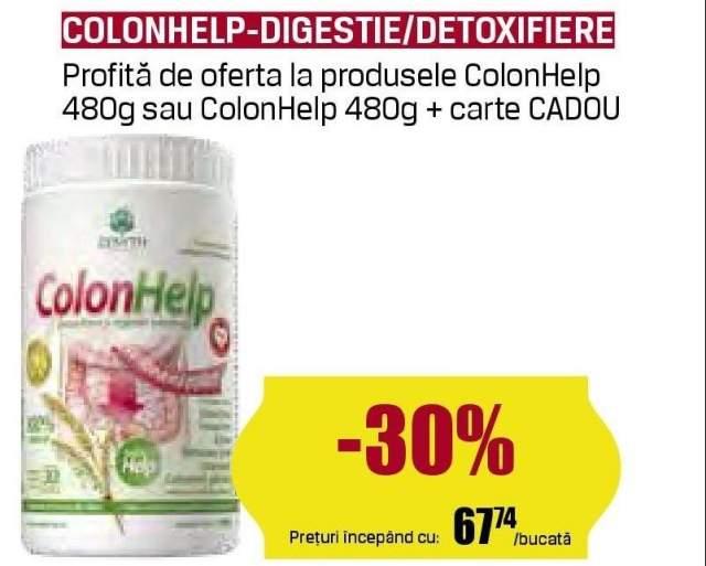 Colonhelp - digestie/detoxifiere